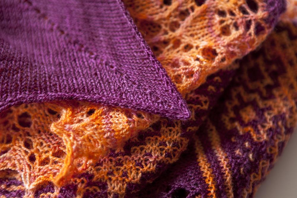 Rockscape shawl