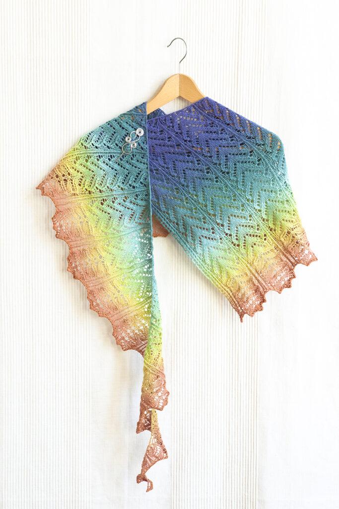 Dúha shawl